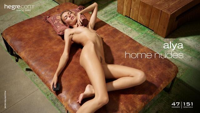 [Hegre-Art] Alya - Home Nudes