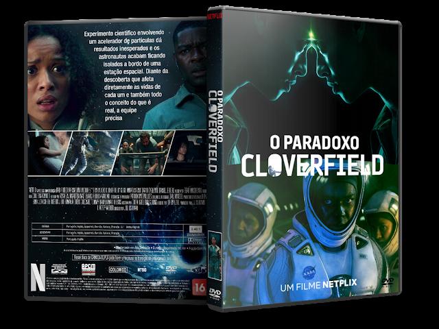Capa DVD O Paradoxo Cloverfield