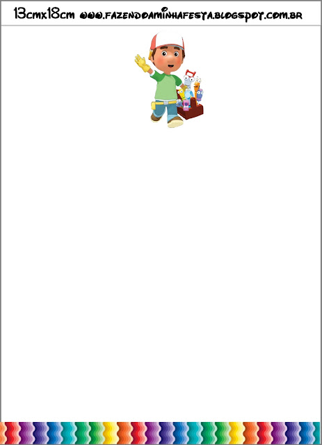 Handy Manny Party Free Printable Invitations – Handy Manny Party Invitations
