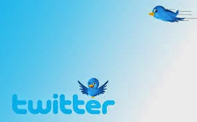 How To add Twitter Flying Bird in Blogger