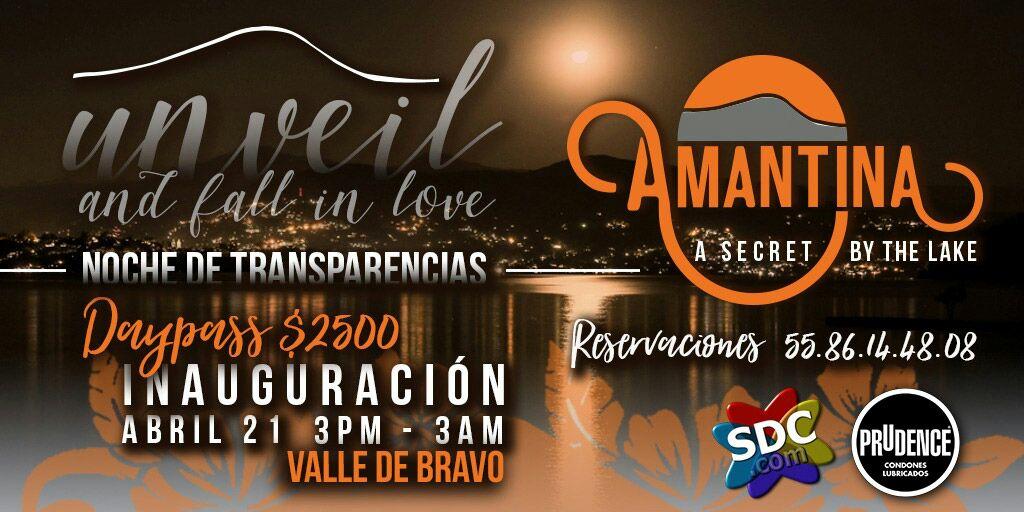 Unveil and fall in love, inauguración de Amantina hotel valle de Bravo
