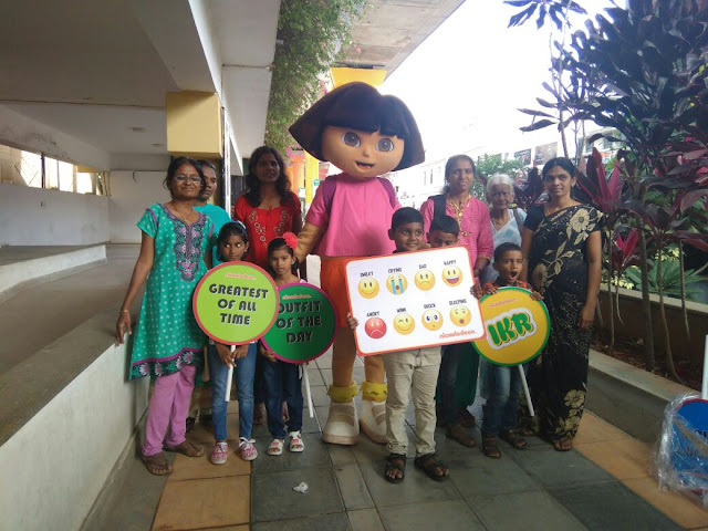 Dora visits Bangalore to make Teacher's Day fun with the Nickelodeon's Gurucool campaign!