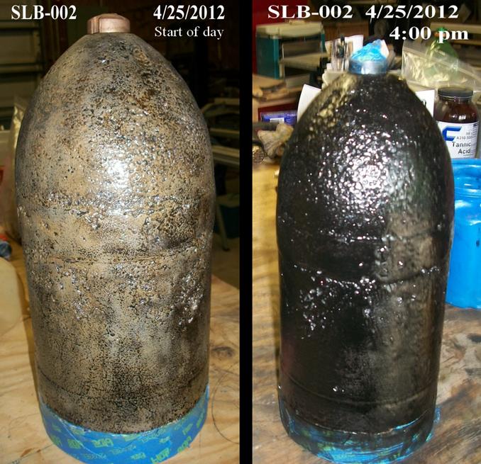 Phosphoric Acid Rust Converter Formula