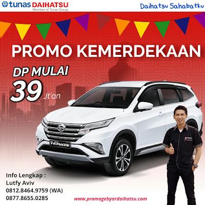 Promo Daihatsu Terios Spesial Kemerdekaan 2018