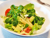 Salata cu paste si avocado