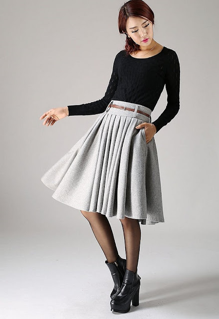 https://shopxiaolizi.com/collections/skirt/products/knee-length-gray-wool-skirt-winter-fashion-flared-pleated-midi-work-skirt-made-to-measure-1097