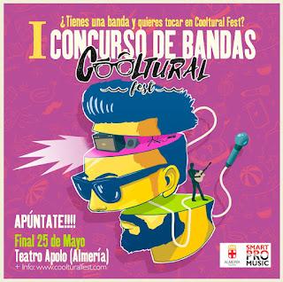 Concurso de bandas COOLTuRAL FEST 2018 (Almeria)
