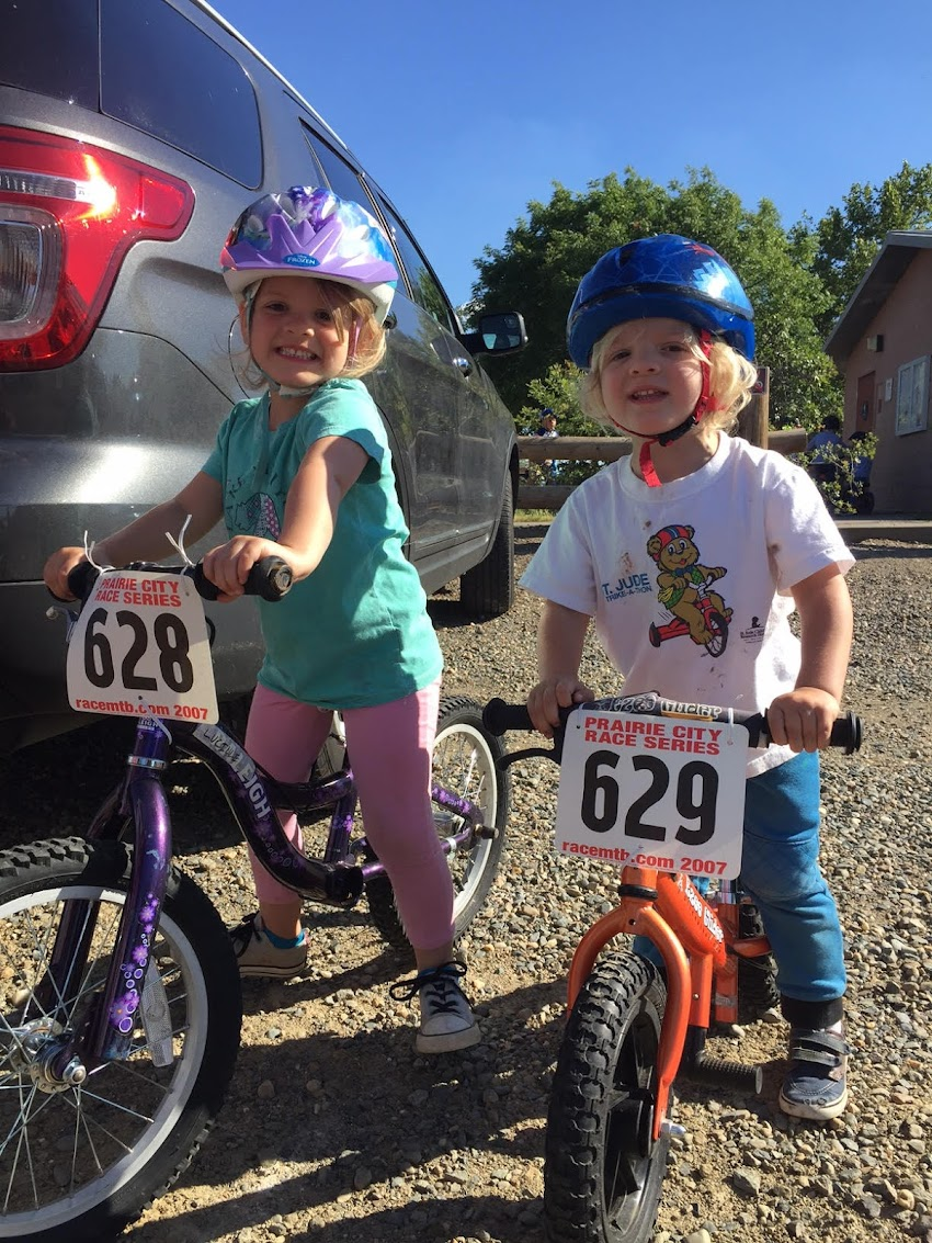 Bike Racing for all ages.