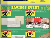 Rona Flyer Home & Garden valid June 15 - 21, 2017