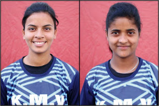 KMV SoftBall Players win Silver Medal in Federation Cup
