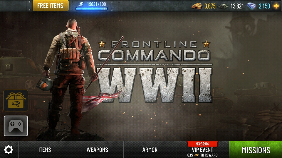 frontline commando 2 mod apk unlimited gold and money download