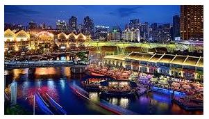 Tour to Singapore River