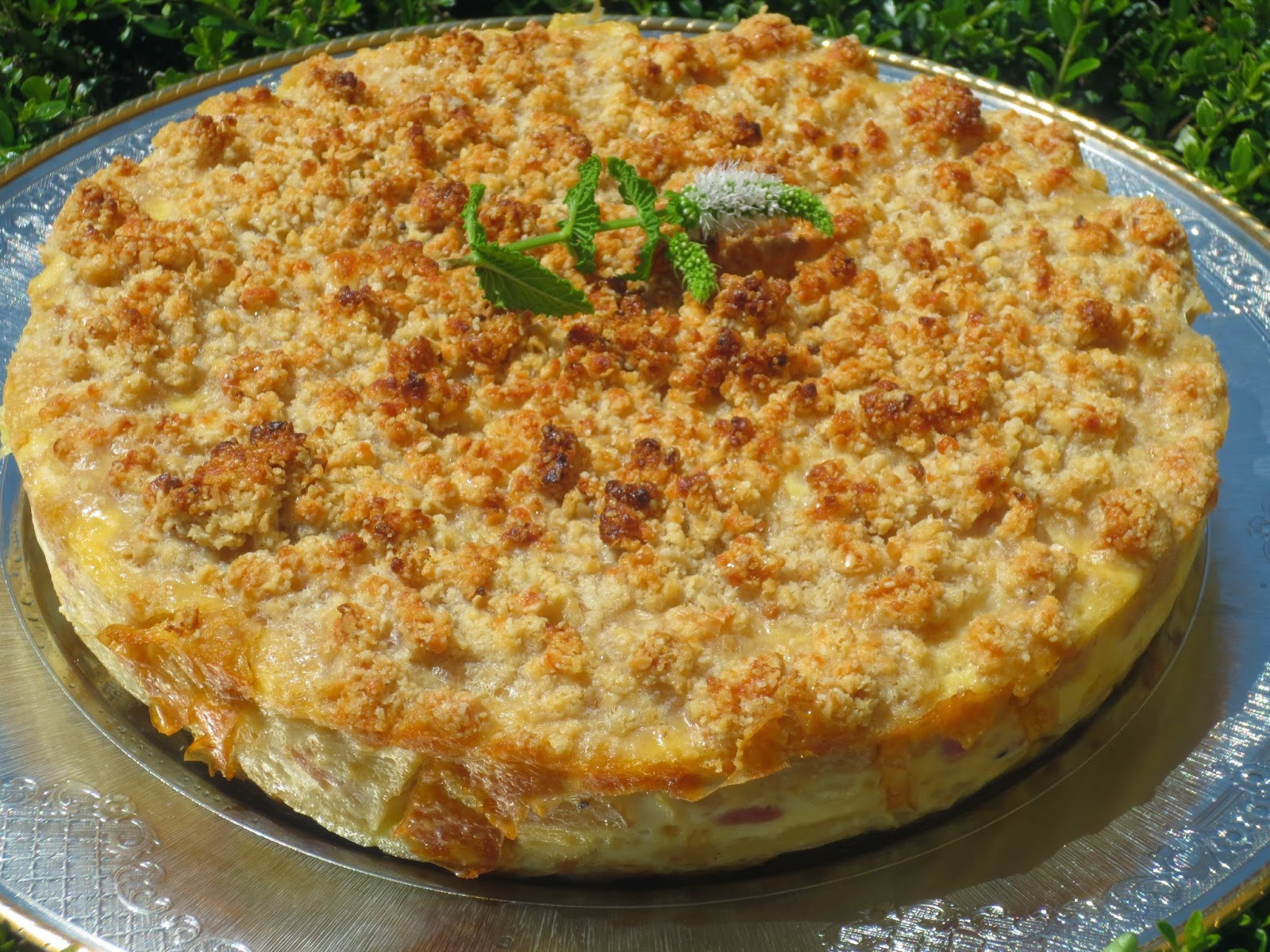 Crumble de tortilla olla GM
