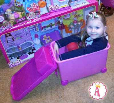 Barbie Store It All Pink Carrying Case
