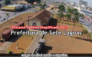 Apostila Processo Seletivo SMASDH Município de Sete Lagoas 2017