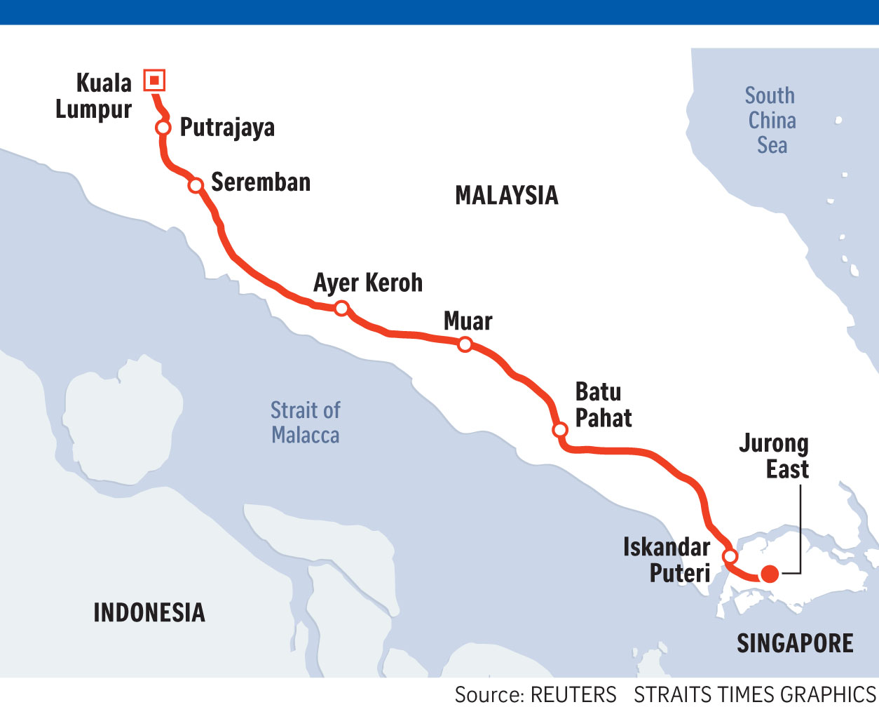 88197071d1f357 The agreement reached between Singapore and Malaysia on the commercial and  operating model of the high-speed rail linking Singapore and Kuala Lumpur is  a ...