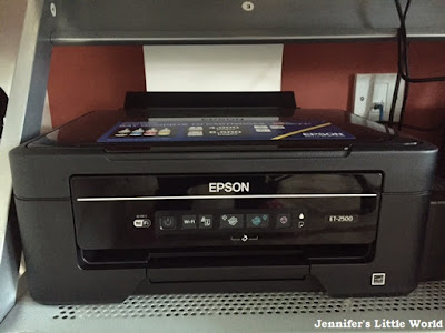 Review - Crafting with the Epson EcoTank ET-2500 printer