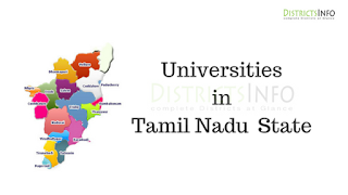 Universities in Tamil Nadu  State