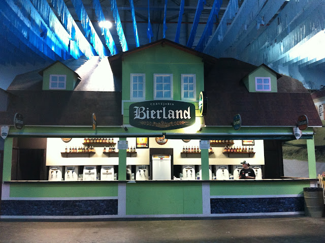 Stand da Bierland.