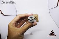 Jual alat sulap appearing cane metal