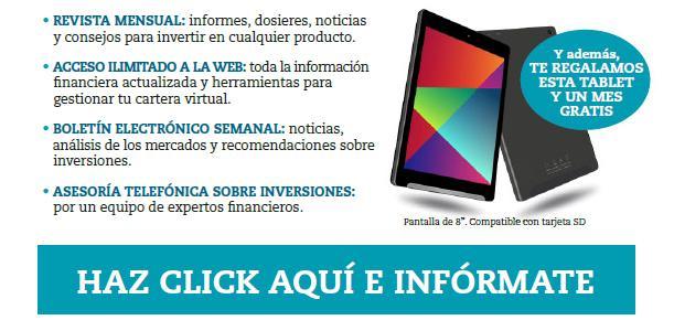 suscripción OCU tablet gratis