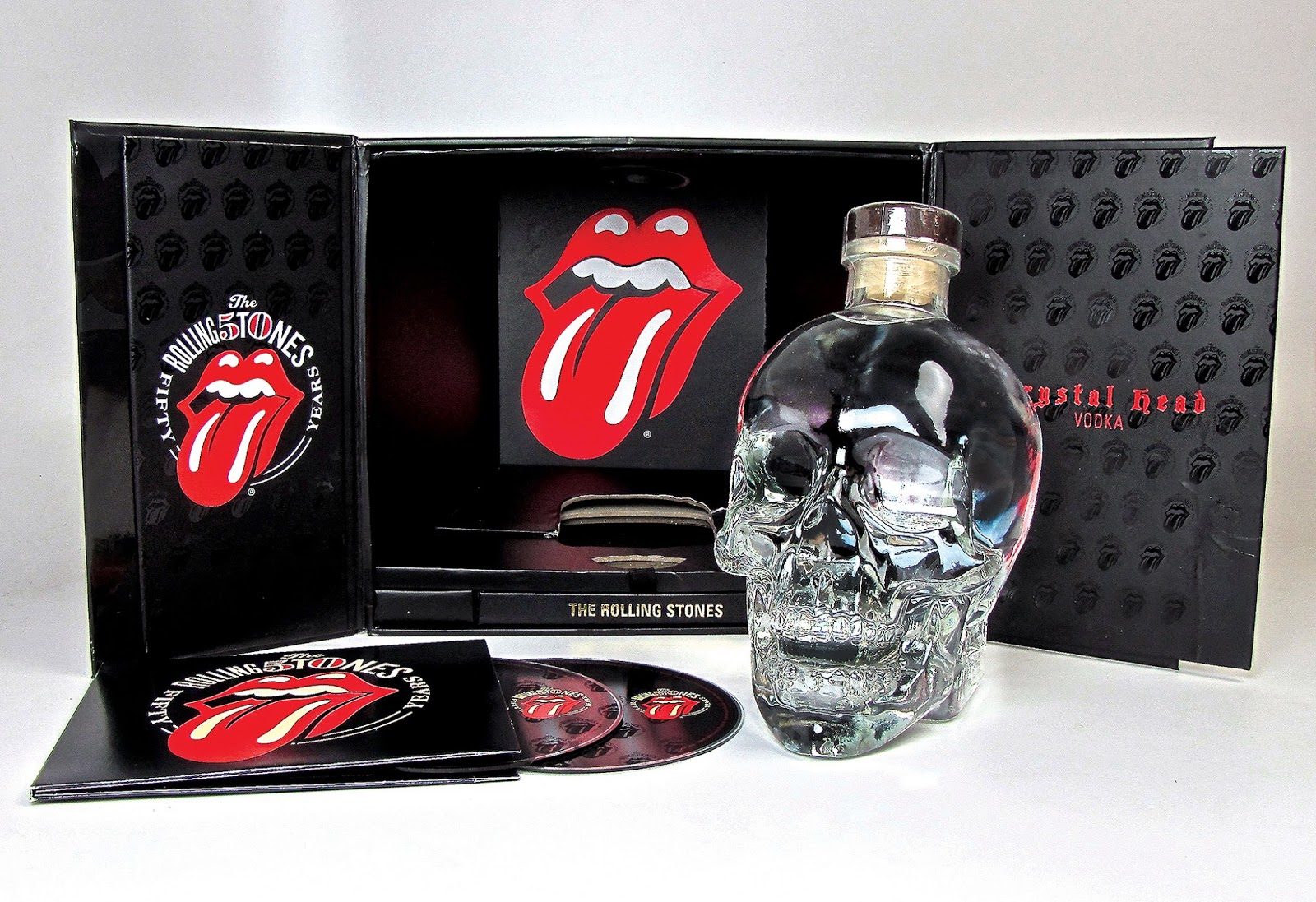 The Rolling Stones 50th Anniversary Gift Set On Packaging