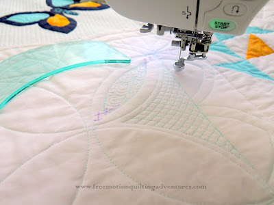home machine quilting with rulers