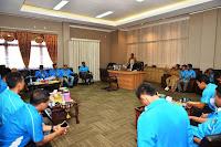 Jajaran KNPI dan Pemkab Bima Siap Bersinergi Bangun Daerah