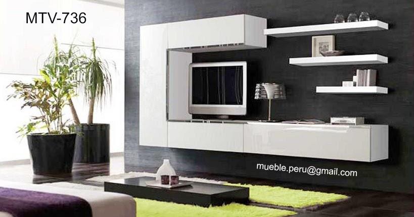 Muebles tv centros de entretenimiento - Fotos muebles para tv ...