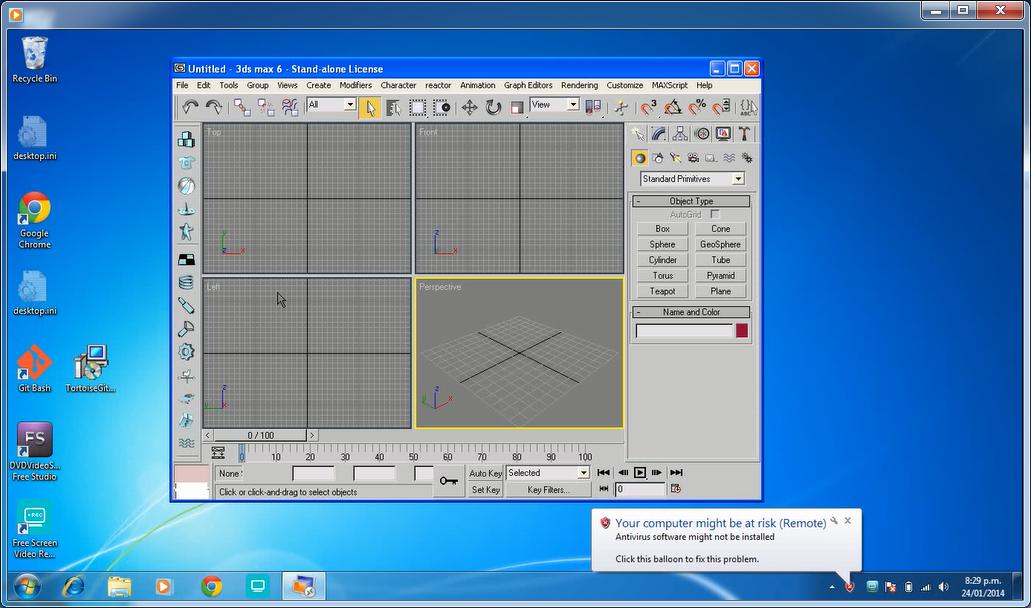 Running 3dsmax6 on Windows7   Hobbyiste