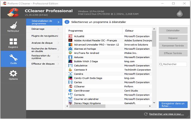 تحميل وتفعيل برنامج سيكلنر بروفيشنال بلس 5.39.6399