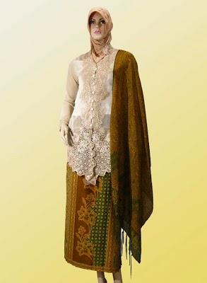 Desain Model Terbaru baju gamis Kebaya Masa Kini