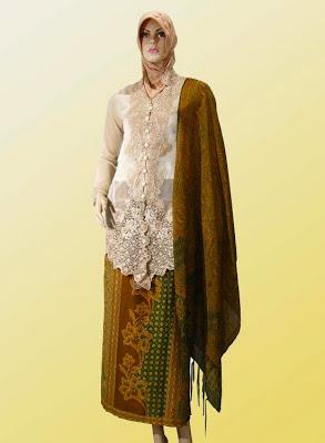 Desain Model Terbaru Baju Muslim Kebaya Masa Kini