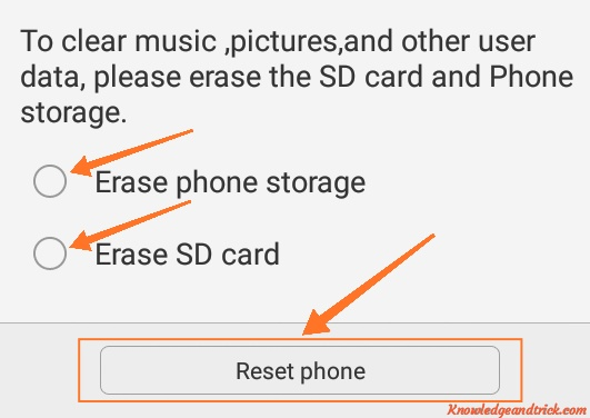 Phone ko format restore kaise kare