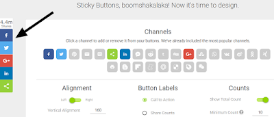 sharing icons