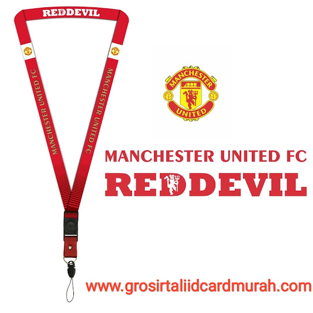 Desain tali id card manchester united