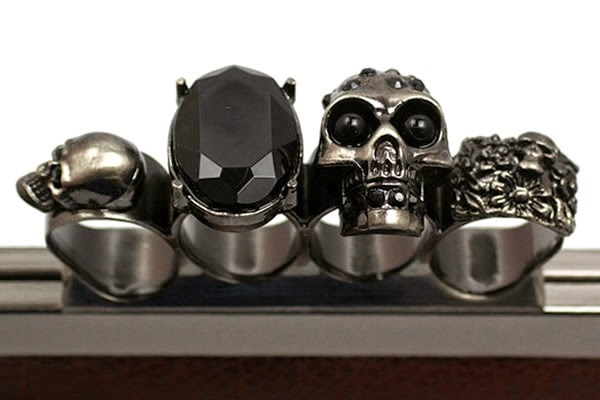 For Those Of Us Who Indulge Daily In Wearing Multiple Rings The Knuckle Duster