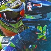 Tippinator on the cover of paintball magazine - APG
