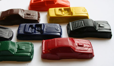 Car Crayons