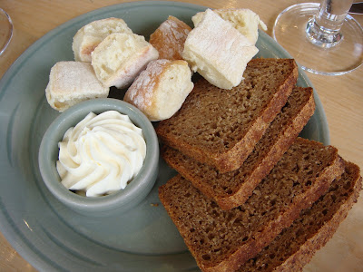 Bread and scones at Simon Pearce, Quechee, Vermont