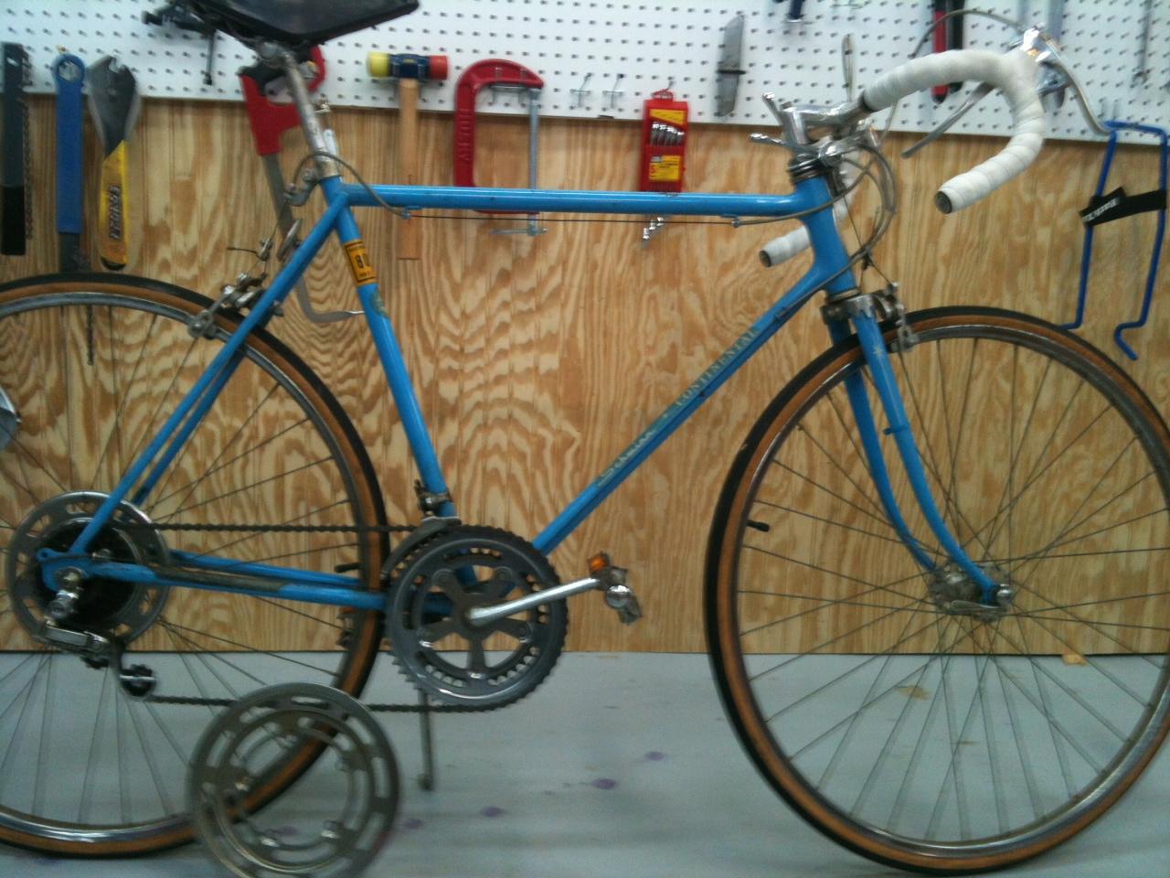 John's Bicycle Restorations: 1973 Schwinn Continental Restoration