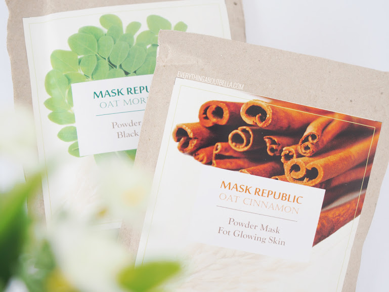Mask Republic Oat Cinnamon & Oat Moringa Review - Blogger Indonesia