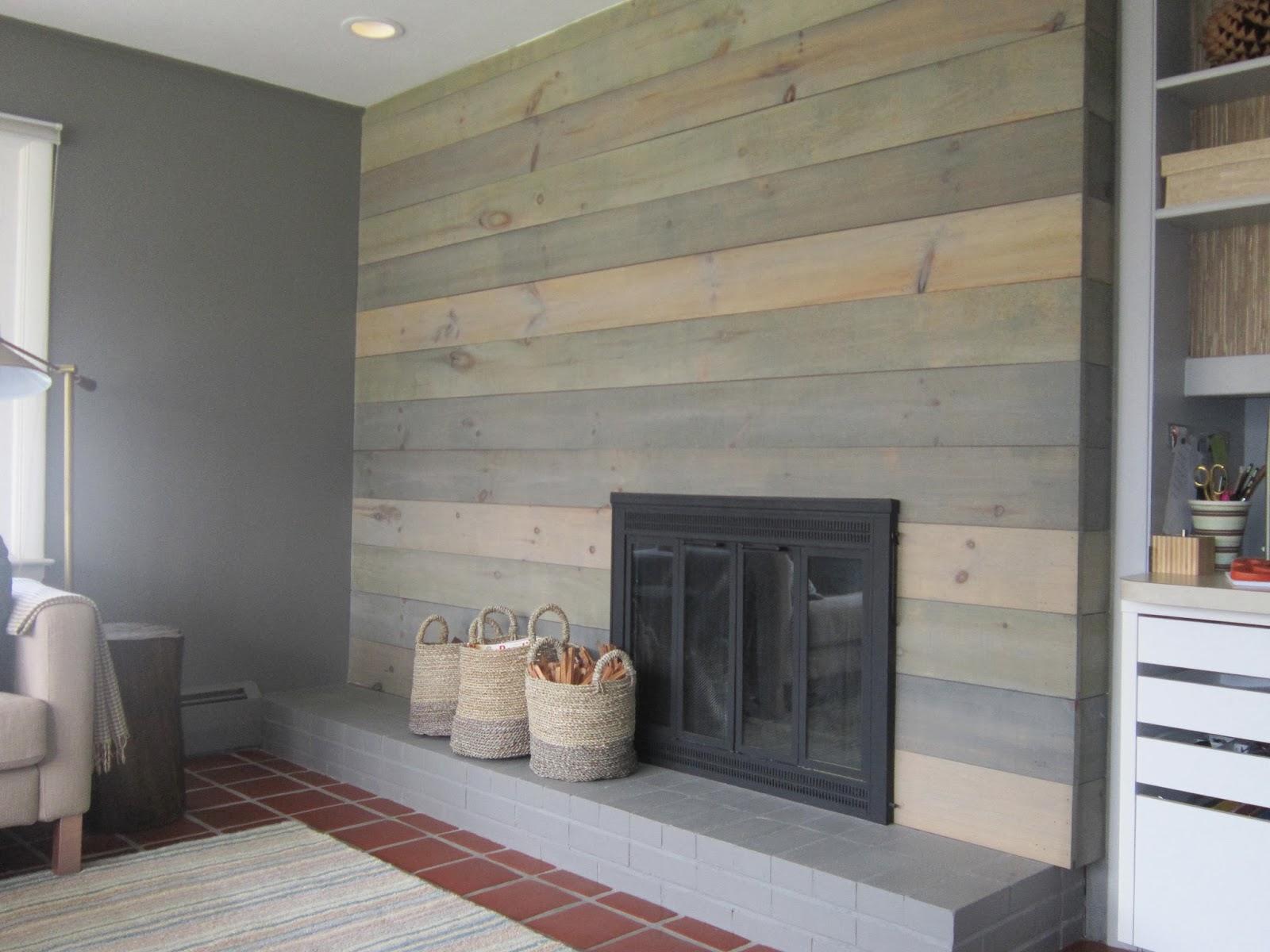 Design Megillah Faux Barnwood Wall On Design Sponge