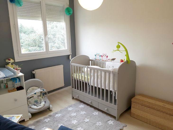 chambre de bebe garçon grise