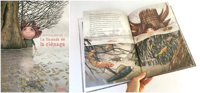 mejores cuentos infantiles 5, 6, 7, 8 años, libros recomendados llamada ciénaga