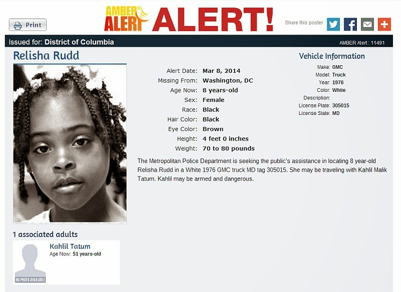 Amber Alerts and Missing Children Cases Updates: Relisha ...