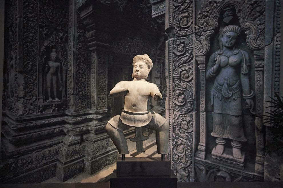Study reveals global criminal trafficking network for ancient Cambodian art