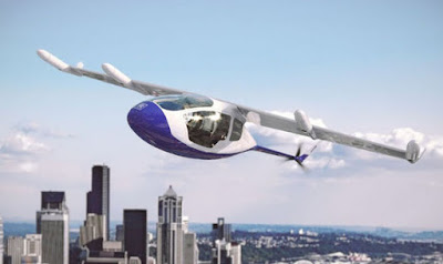 Rolls- Royce unveils flying taxi prototype