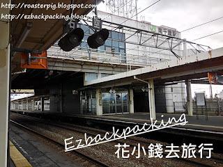 JR南千歲駅月台