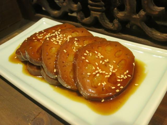 金牌蜜汁藕